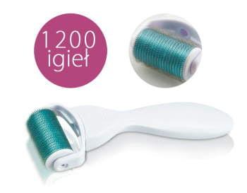 Derma Roller 1200 - 2,0 mm  do zabiegów pielegnacyjnych