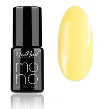 lakier hybrydowy do paznokci Mono UV 3 in1 Dark Yellow