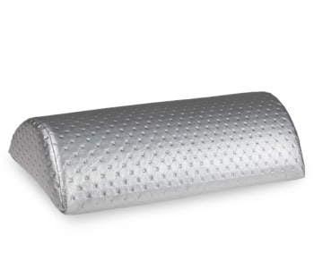 Poduszka pod rękę STUDIO LINE - pikowana srebrna do manicure