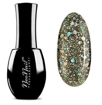 lakier do manicure hybrydowego w kolorze Glitter Galaxy