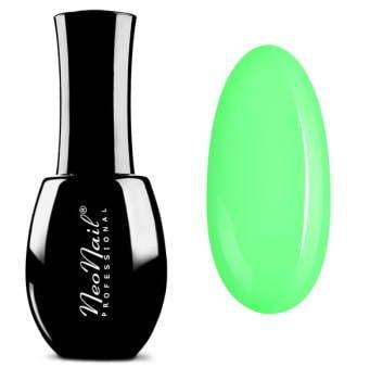 lakier hybrydowy w kolorze Neon Green pastelowy
