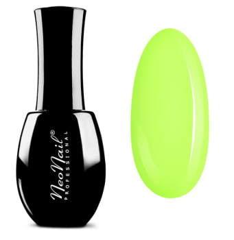 lakier hybrydowy w kolorze Juicy Lime pastelowy