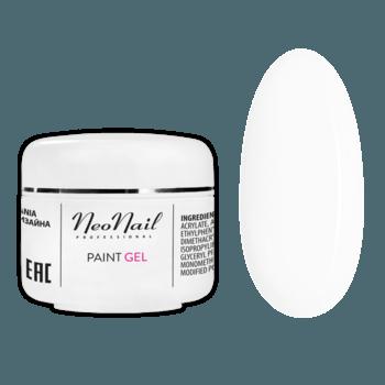 Paint UV/LED Gel 5 ml - White Rose - White Rose do manicure