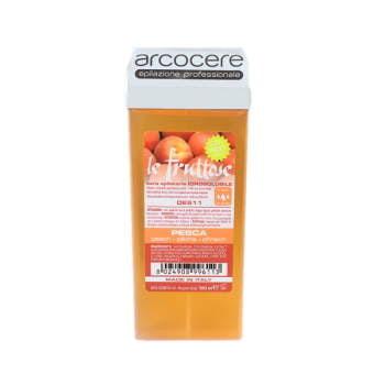 Wysokiej jakości żelowy wosk w aplikatorze le frutti- Brzoskwinia