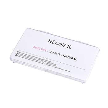 Wysokiej jakości Paznokcie Tipsy naturalne 120 szt. z długą kieszonką NeoNail