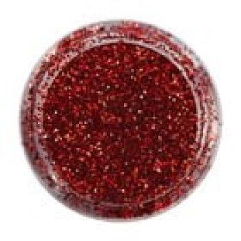 Brokat Czerwony (0,1mm) do zdobienia paznokci